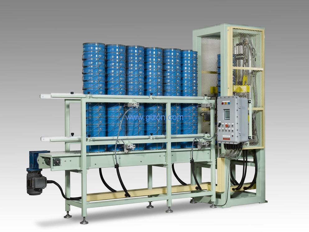 油漆灌装机生产线_油墨灌装机设备 自动上盖、压盖